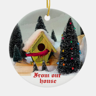 Little Birds Our House to Yours 2011 ornament