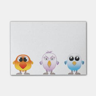 Little Birds Post-it Notes
