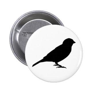 LITTLE BIRDY 6 CM ROUND BADGE