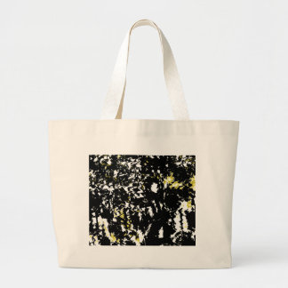 Little bit of yellow large tote bag