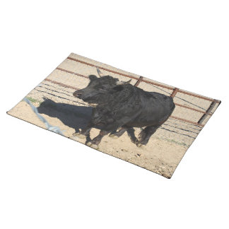 Little Black Bull Kitchen Place Mats
