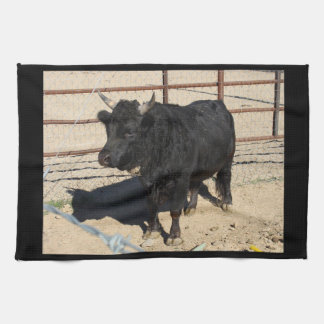 Little Black Bull Kitchen Towel