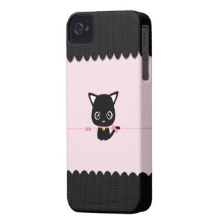 Little Black Cat for BlackBerry Bold iPhone 4 Cover