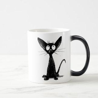 Little Black Cat Mugs