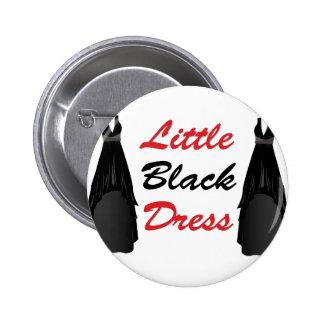 Little Black Dress 6 Cm Round Badge
