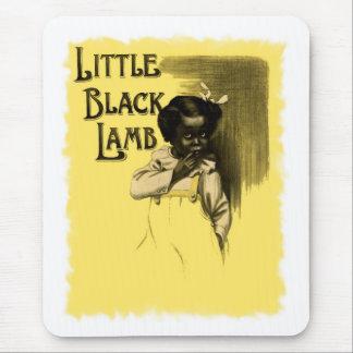 Little Black Lamb Vintage Black Americana Mouse Pad