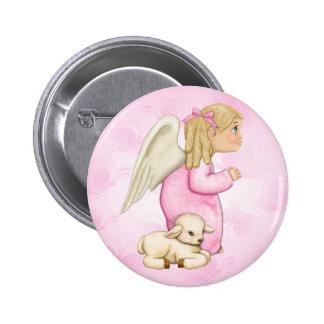 Little Blessings Angel Girl Pin