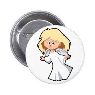 Little Blonde Angel Girl Pins