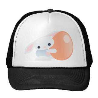 Little Blue Baby Bunny - The Tender Mesh Hats