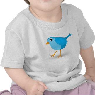 Little Blue Bird Cute Baby's or Infant's T-Shirt Shirt