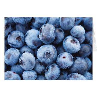 Little Blue Blueberries - Fruit Print Card