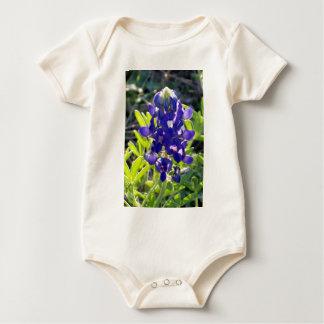 Little Blue Bonnet Baby Bodysuits