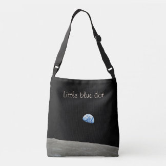 Little Blue Dot All-Over Printed Tote Bag