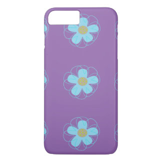 Little Blue Flowers Cell Phone Case