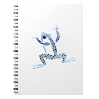 Little Blue Frog Notebook