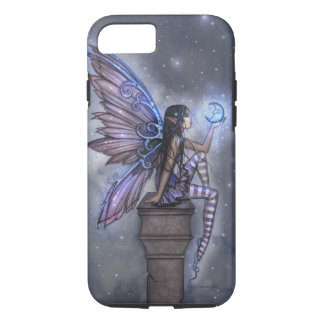 Little Blue Moon Fairy Faerie Fantasy Art iPhone 7 Case