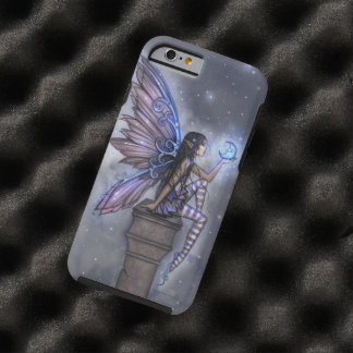 Little Blue Moon Fairy Faerie Fantasy Art Tough iPhone 6 Case