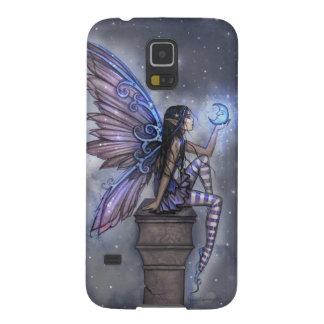 Little Blue Moon Fairy Fantasy Art Cases For Galaxy S5