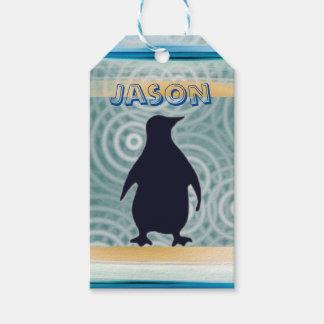Little Blue Penguin Gift Tag
