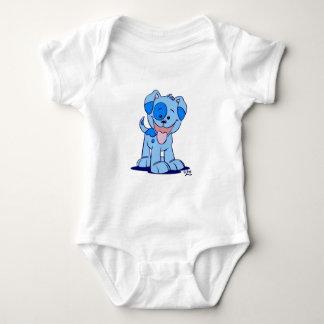 Little blue puppy Baby Romper Baby Bodysuit