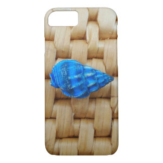 Little Blue Sea Shell iPhone 7 Case