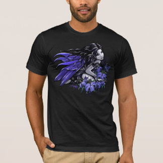 Little Blue Tattoo Butterfly Lilly Fairy T-Shirt