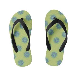 Little blue tumbleweeds kid's thongs