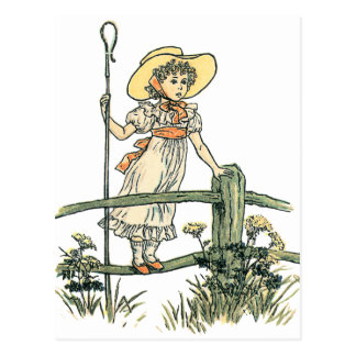 Little Bo Peep Postcard