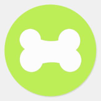 """Little Bone Olive 1.5"""" Round Stickers"""