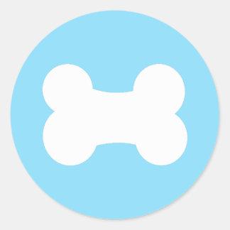 """Little Bone Teal 3"""" Round Sticker"""