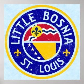 Little Bosnia St. Louis Poster Print
