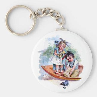 Little Boston Tea Party Keychains