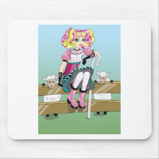 Little Bow Peep Mouse Pad