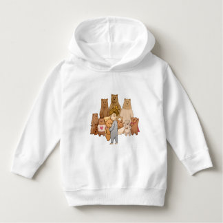 Little boy and bears hoodie