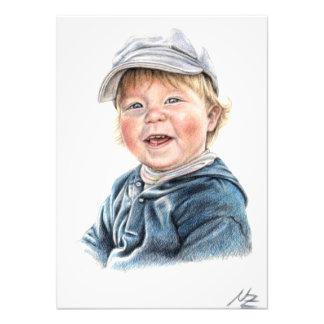 Little Boy Art Photo