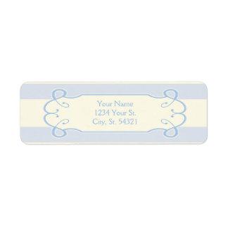 Little Boy Blue Baby Shower, Address Labels