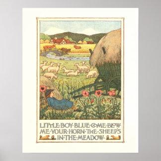 """""""Little Boy Blue"""" Poster"""