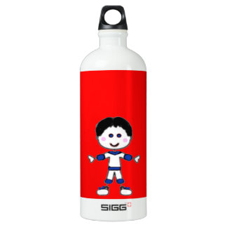 Little Boy Stick Family Collection Water Bottle
