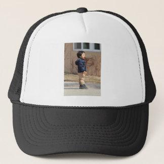 Little boy trucker hat