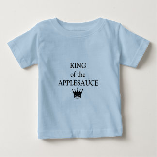 "little boys shirt ""KING of the APPLESAUCE"""