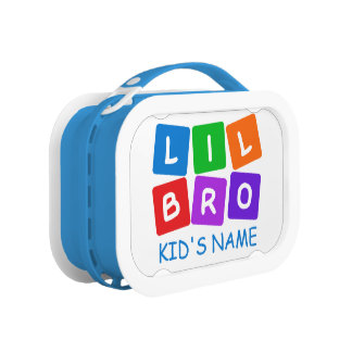 Little Bro custom lunch box