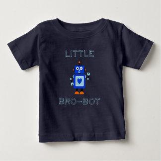 Little Brobot Baby Brother Sibling Robot Shirt