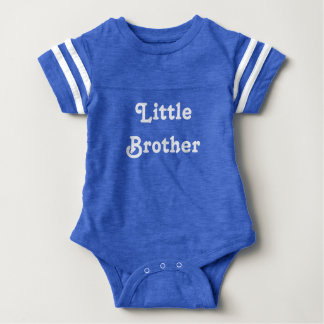 Little Brother 1 Piece Baby Bodysuit