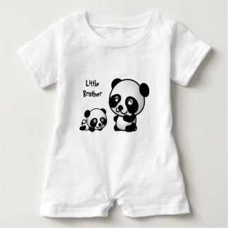 Little Brother Baby Romper Baby Bodysuit