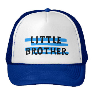Little Brother Blue Stripes Tshirts and Gifts Cap