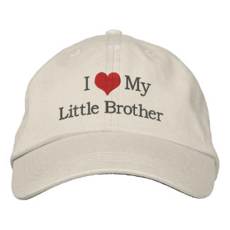 Little Brother Embroidered Hat