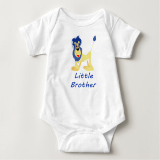 Little Brother Lion Baby Bodysuit