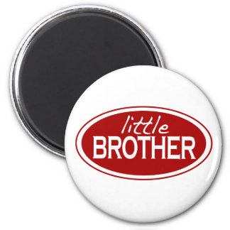 Little Brother (oval) Magnet