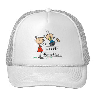 Little Brother with Big Sister Tshirts Trucker Hat
