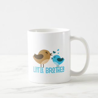 Little Brother with Birdies Coffee Mugs